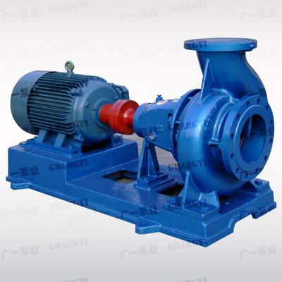 广一IS型单级单吸卧式离心泵