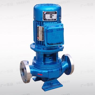 广一GDF型耐腐蚀管道泵